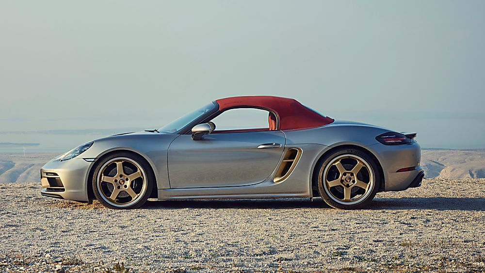 PORSCHE: 718 Boxster gains 25 Years anniversary edition Soft Top