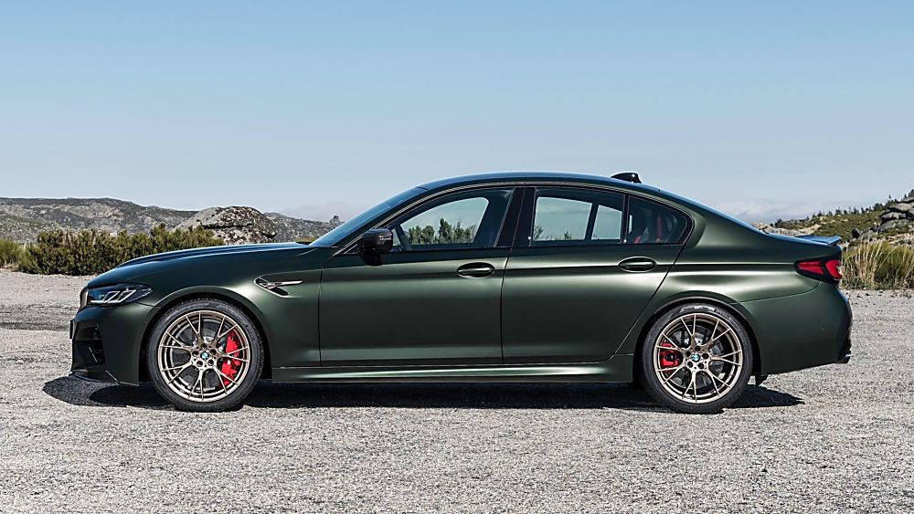 BMW's perfect storm: The new 626bhp M5 CS Side