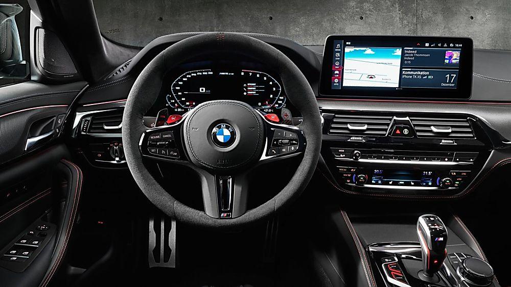 BMW's perfect storm: The new 626bhp M5 CS Cockpit