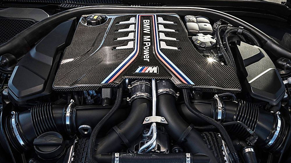 BMW's perfect storm: The new 626bhp M5 CS Engine