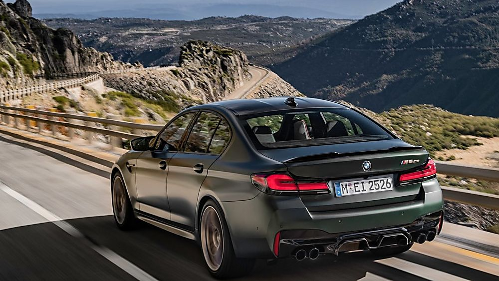 BMW's perfect storm: The new 626bhp M5 CS Hero Rear
