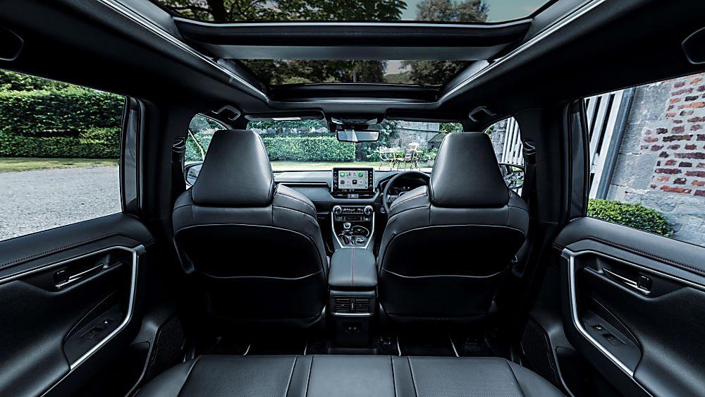 Review: 2021 Toyota RAV4 Plug-in Hybrid Rear Space