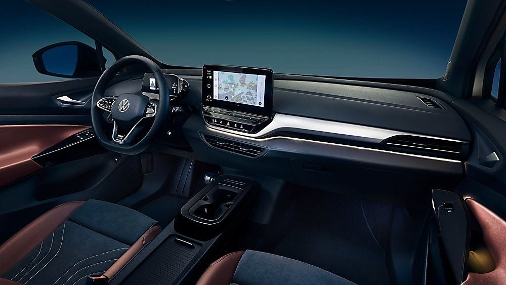 VOLKSWAGEN: Order books open for ID.4 electric SUV Hero Cockpit