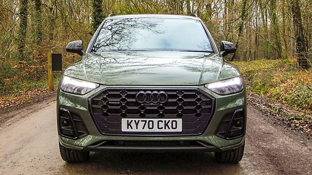 Review: 2021 Audi Q5 'Edition 1' Front