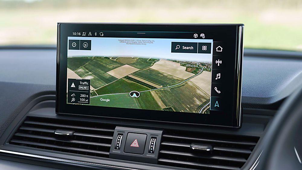 Review: 2021 Audi Q5 'Edition 1' Infotainment