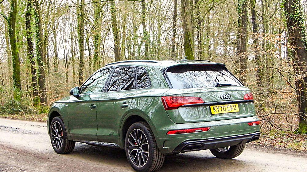 Review: 2021 Audi Q5 'Edition 1' Rear Left