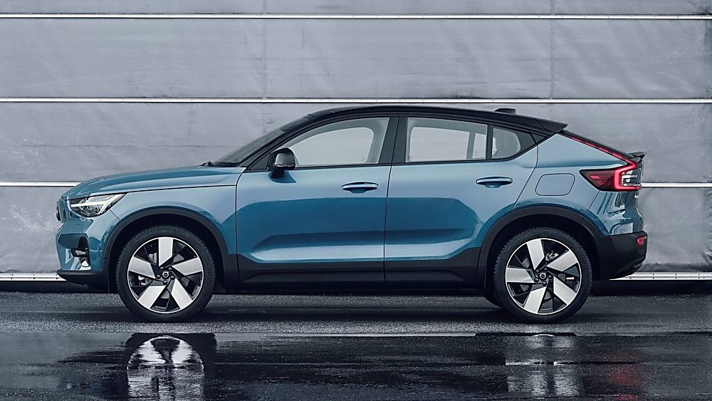 VOLVO: New C40 Recharge EV coming to the UK - Side