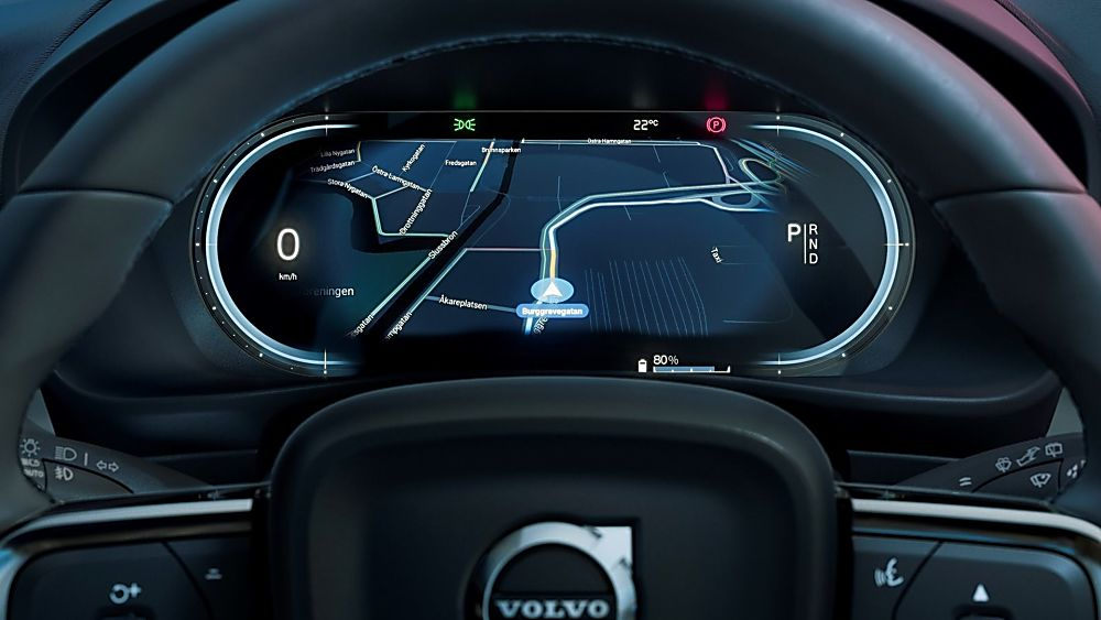 VOLVO: New C40 Recharge EV coming to the UK - Cockpit