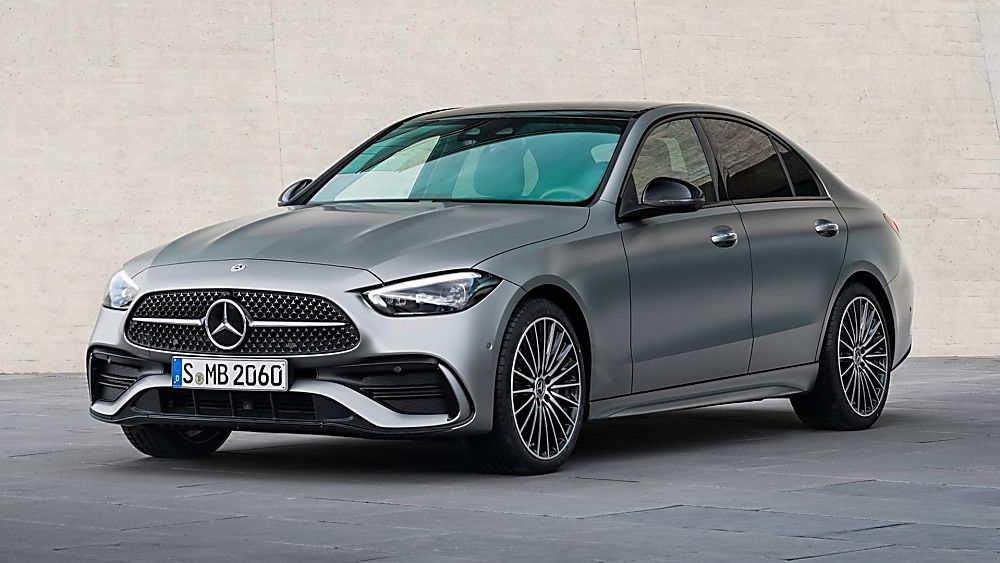 MERCEDES-BENZ: New C-Class saloon and estate revealed - Front