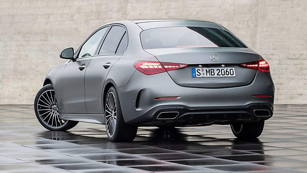 MERCEDES-BENZ: New C-Class saloon and estate revealed - Rear