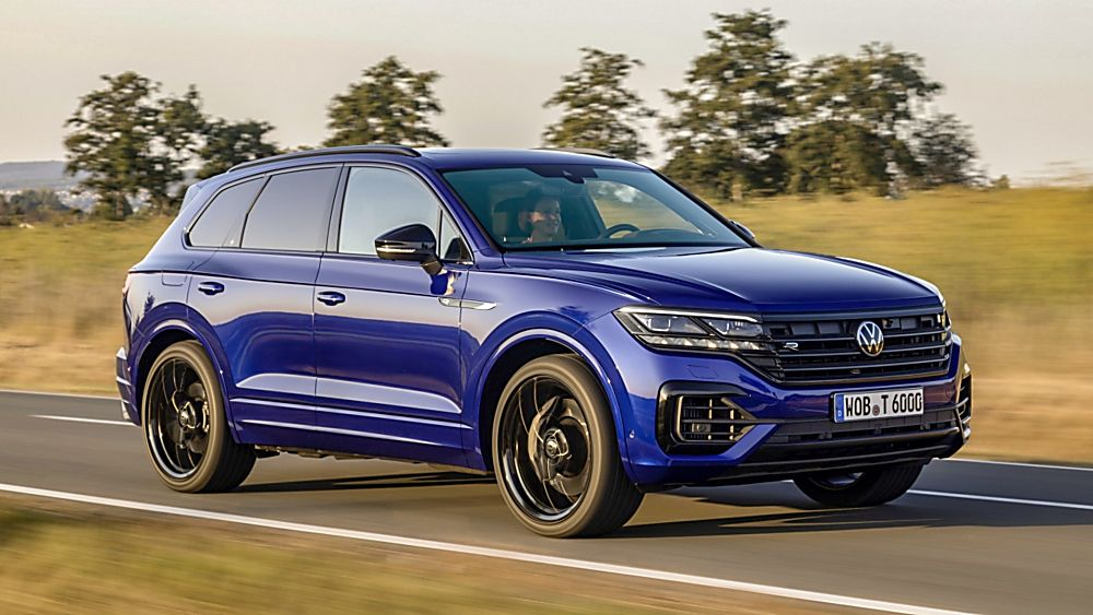 VOLKSWAGEN: Orders open for Touareg R PHEV flagship On the Road Front