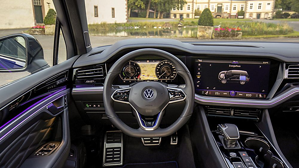 VOLKSWAGEN: Orders open for Touareg R PHEV flagship Interior