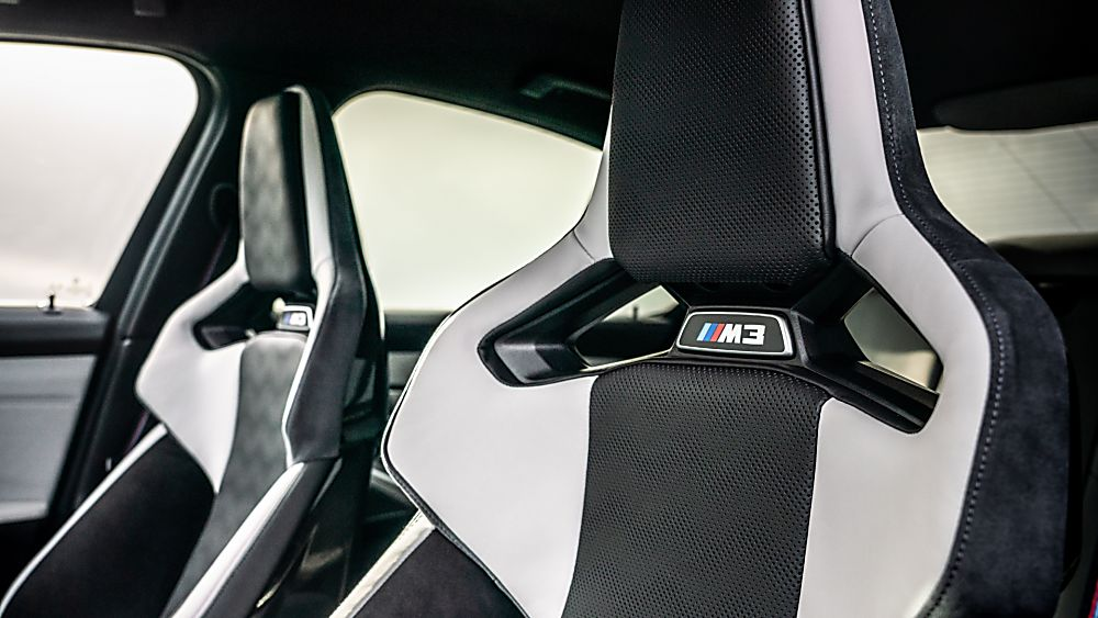 BMW: New M3 and M4 Competition siblings on sale now Interior Sport Seats