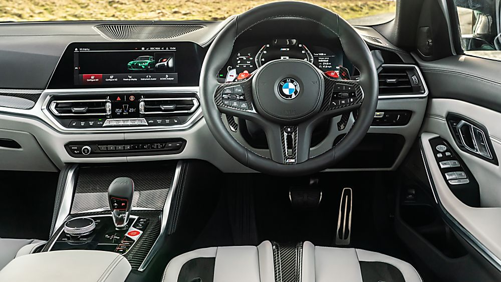 BMW: New M3 and M4 Competition siblings on sale now Cockpit