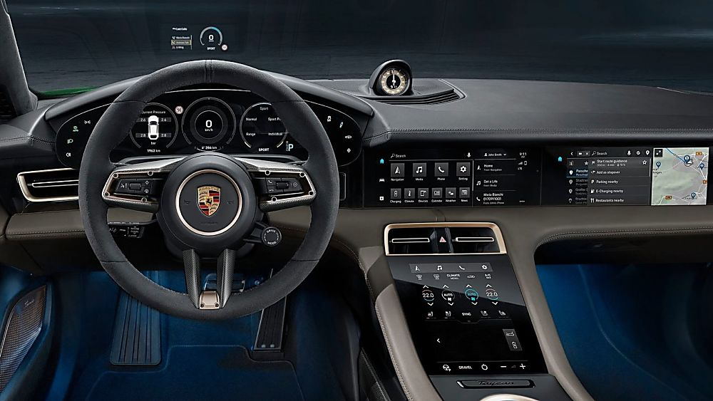 PORSCHE: New Taycan Cross Turismo revealed Cockpit