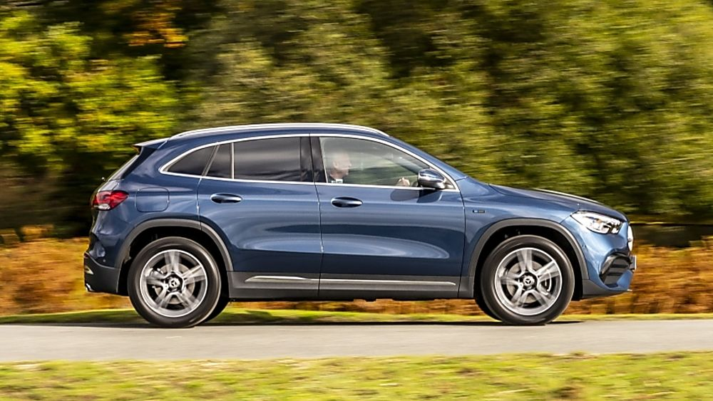Review: Mercedes-Benz GLA 250 e PHEV Interior Side On the Road