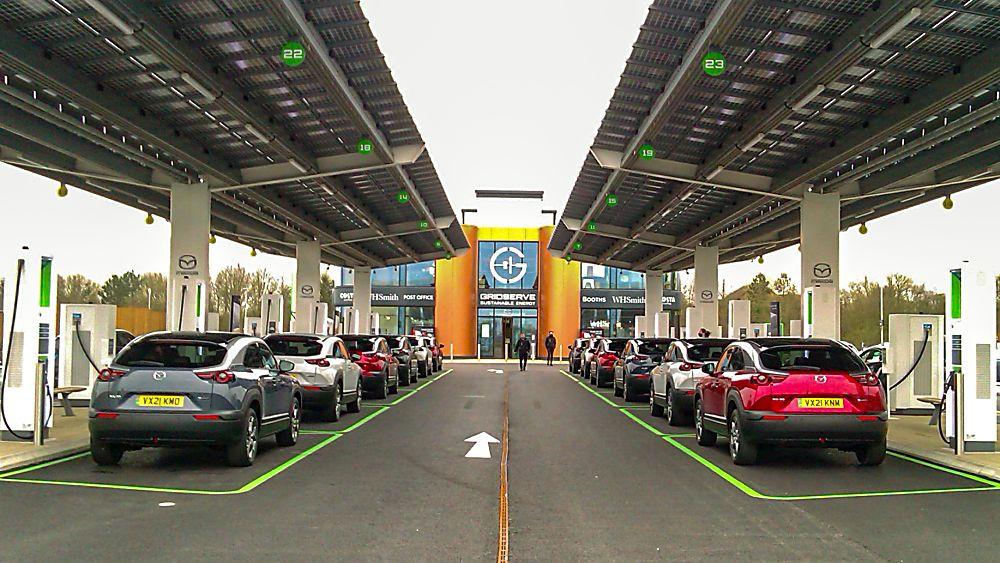 Review: Mazda MX-30 EV Showroom