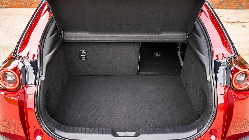 Review: Mazda MX-30 EV Boot