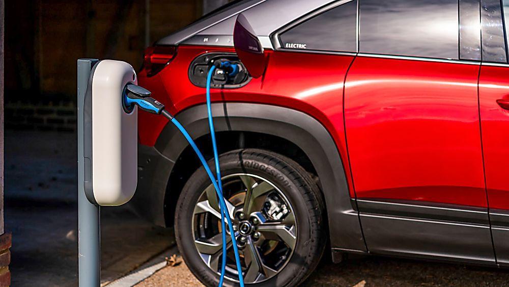Review: Mazda MX-30 EV Charging