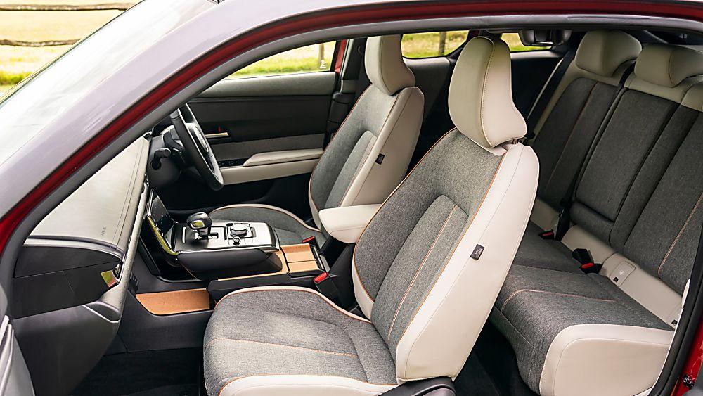 Review: Mazda MX-30 EV Interior Front