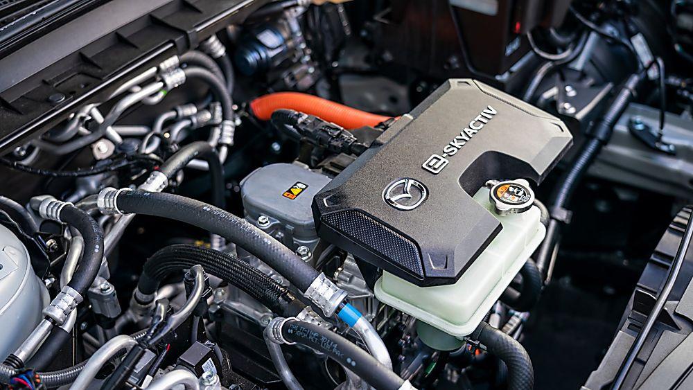 Review: Mazda MX-30 EV Engine