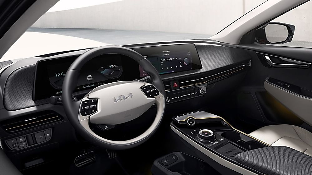 KIA:  All-new EV6 electric car now on sale Interior Cockpit