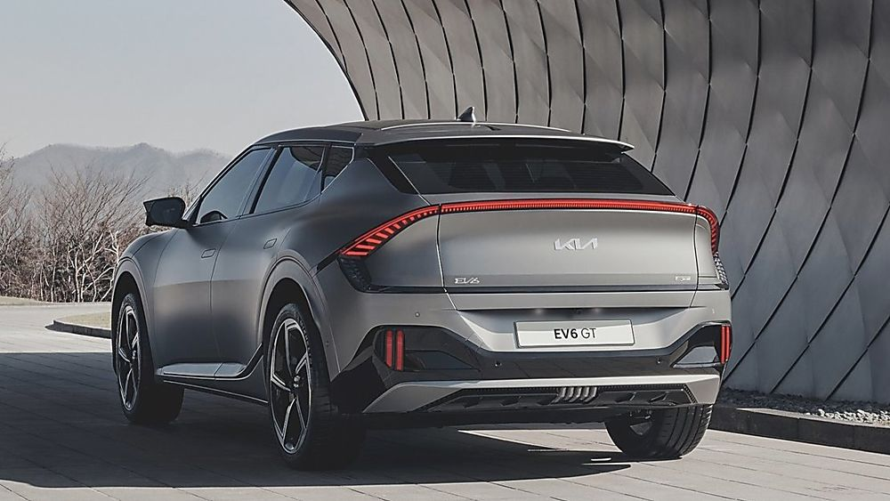 KIA: All-new EV6 electric car now on sale Hero Rear