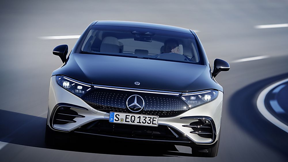 MERCEDES-BENZ:  EQS luxury EV saloon breaks cover - On the Road