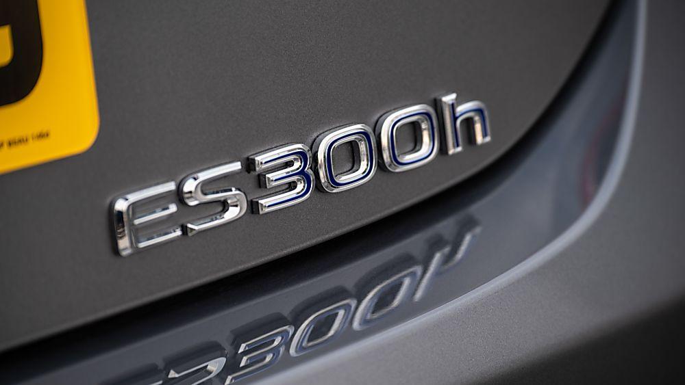Review: Lexus ES300h saloon - Badge