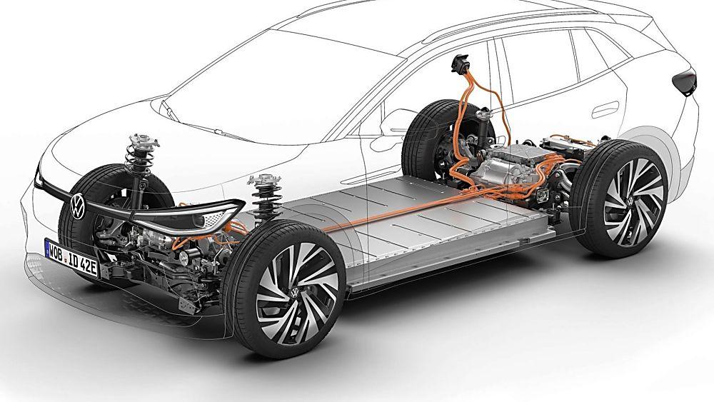 VOLKSWAGEN: ID.4 EV gets 295bhp GTX range-topper Drivetrain