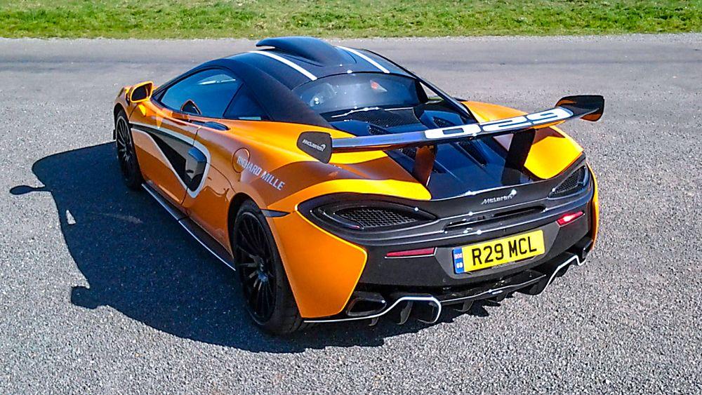 Review: McLaren 620R Hero Rear