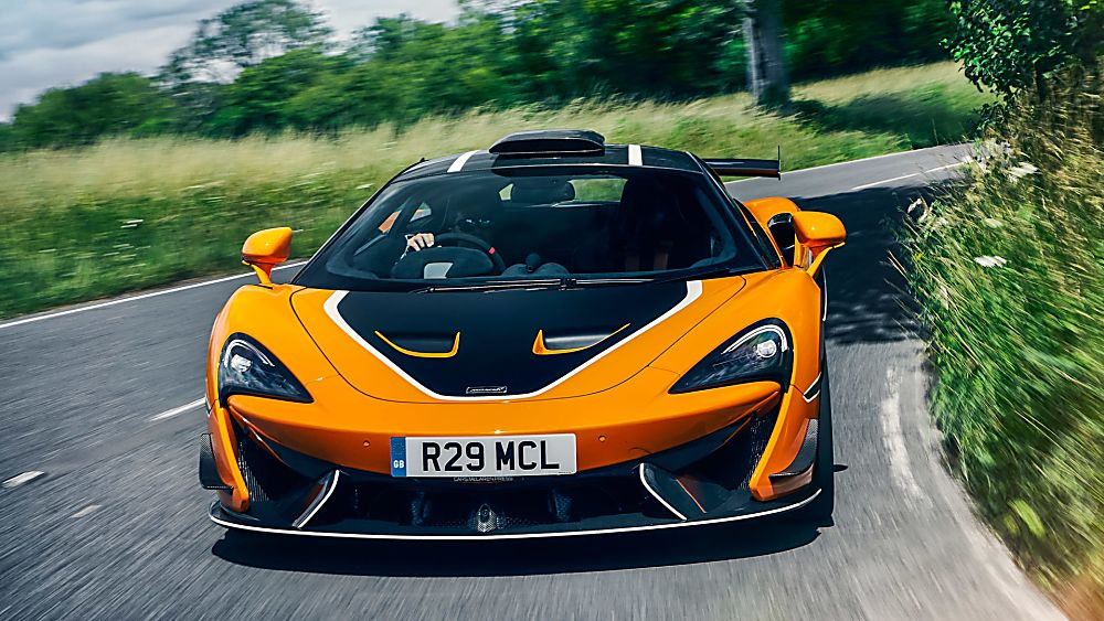 Review: McLaren 620R On the road