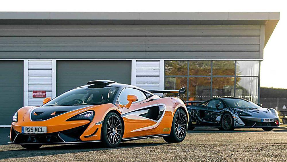 Review: McLaren 620R Display
