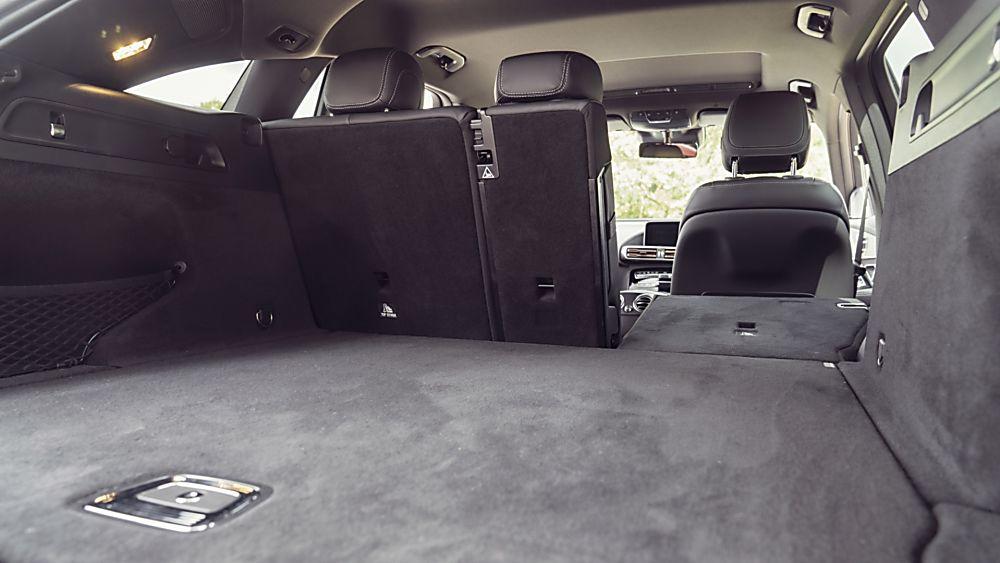Review: Mercedes-Benz EQC 400 Rear Seats Down