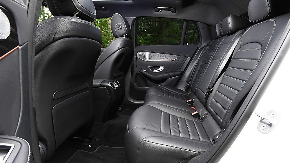 Review: Mercedes-Benz EQC 400 Interior Rear