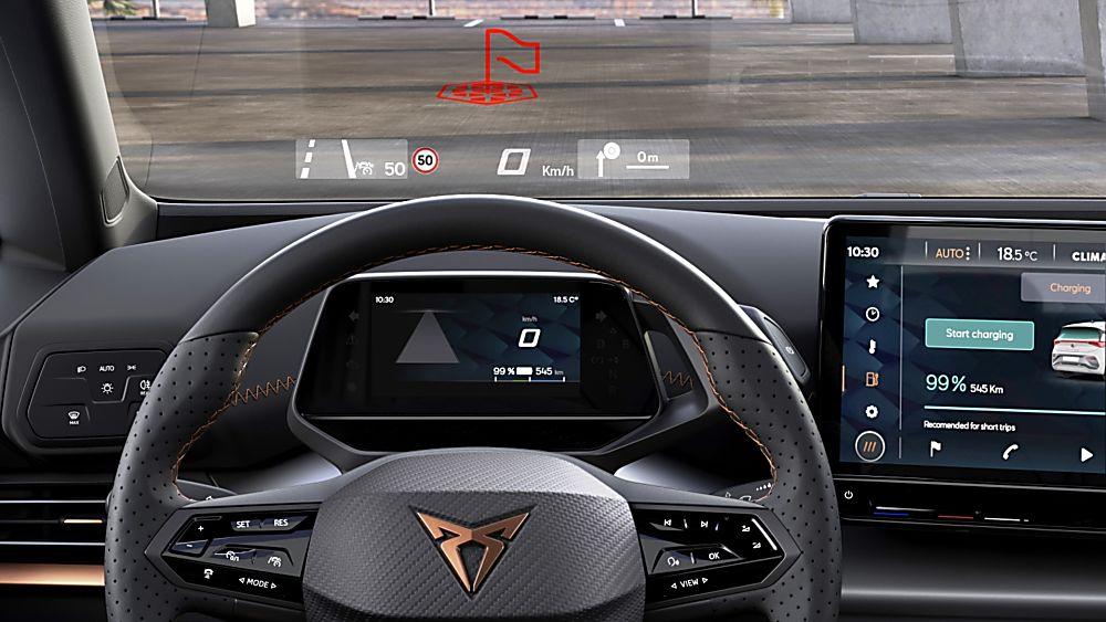 CUPRA: Enter the all-new Born sporty EV hatch Dashboard