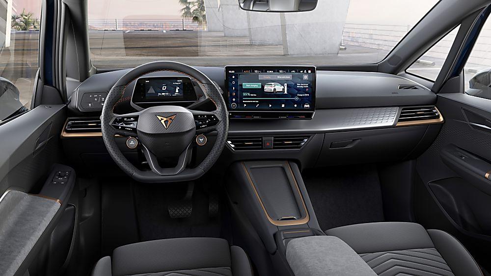 CUPRA: Enter the all-new Born sporty EV hatch Cockpit