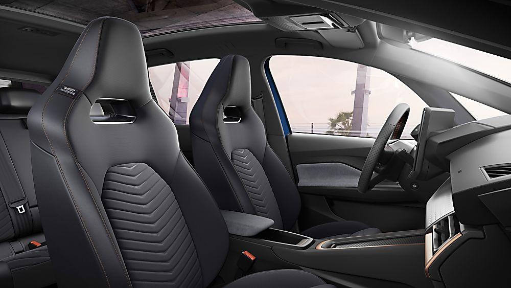 CUPRA: Enter the all-new Born sporty EV hatch Interior