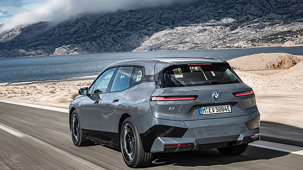 BMW: Techs and Specs for all-new iX eSUV announced Hero Rear