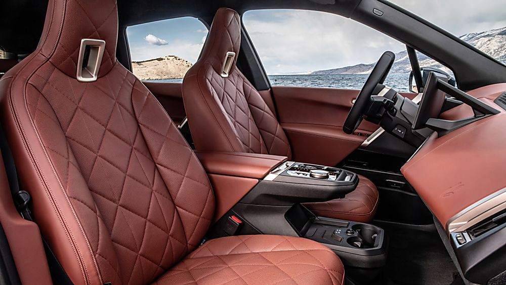 BMW: Techs and Specs for all-new iX eSUV announced Interior Front