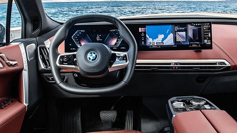 BMW: Techs and Specs for all-new iX eSUV announced Dashboard