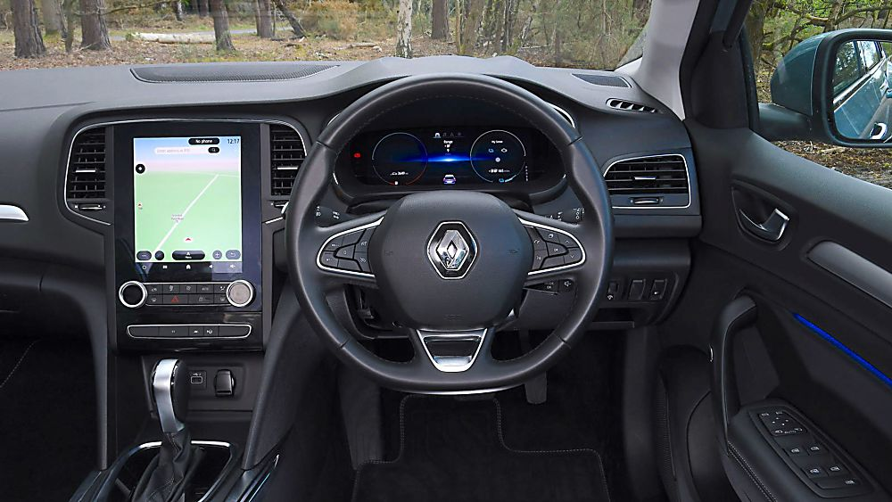 Review: Renault Mégane Sport Tourer E-Tech - Cockpit