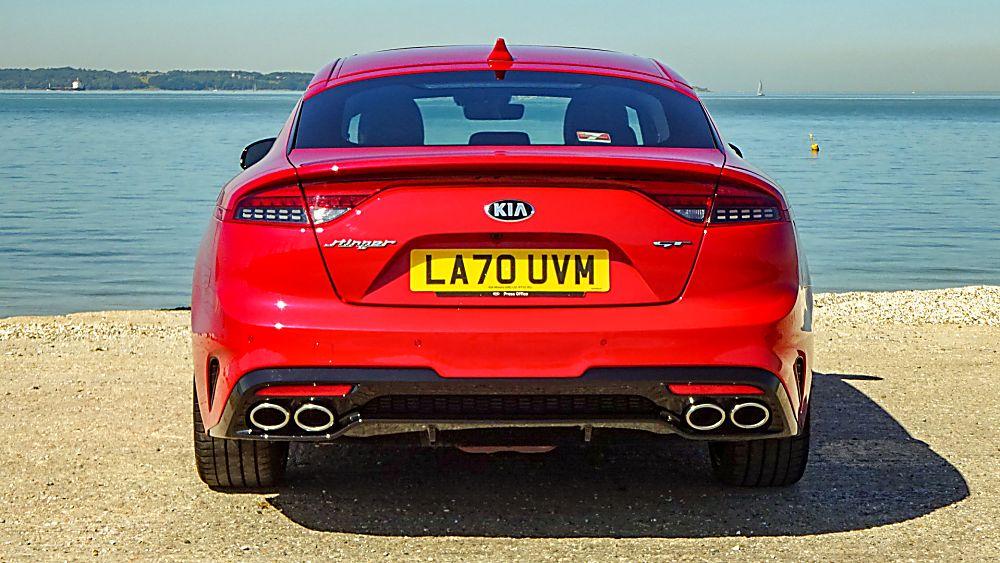 Review: KIA Stinger GT S Rear