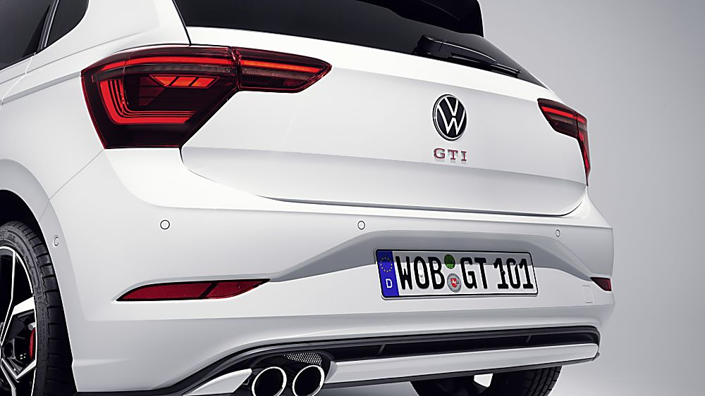 VOLKSWAGEN: New 2022 Polo GTI revealed Rear Close