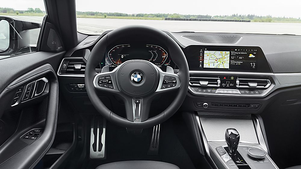 BMW: New 2 Series Coupé in Goodwood FoS debut Cockpit