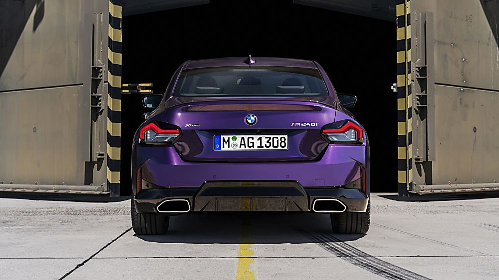 BMW: New 2 Series Coupé in Goodwood FoS debut Rear