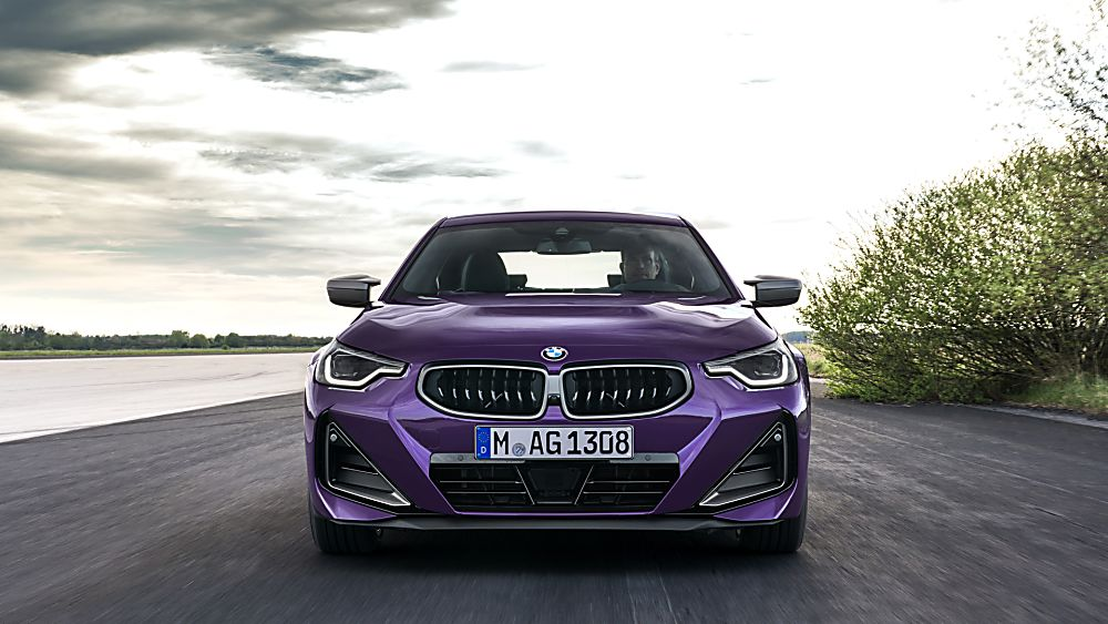 BMW: New 2 Series Coupé in Goodwood FoS debut Front