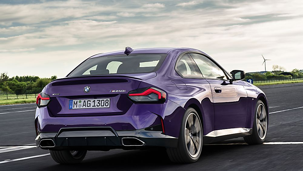BMW: New 2 Series Coupé in Goodwood FoS debut Hero Rear