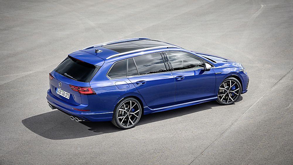 Volkswagen: All-new 316bhp Golf R Estate Rear