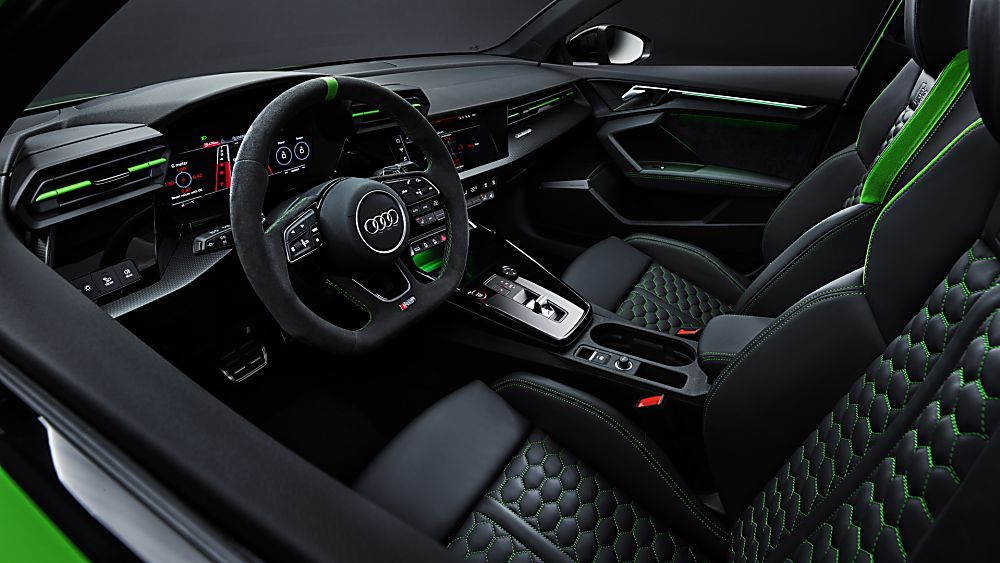 AUDI: RS 3 2022 Interior Front
